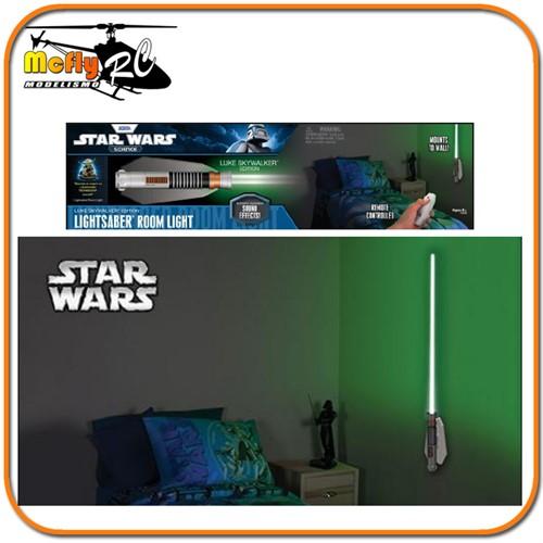 Luminaria 3D Light Star Wars Sabre de Luz Luke com LED