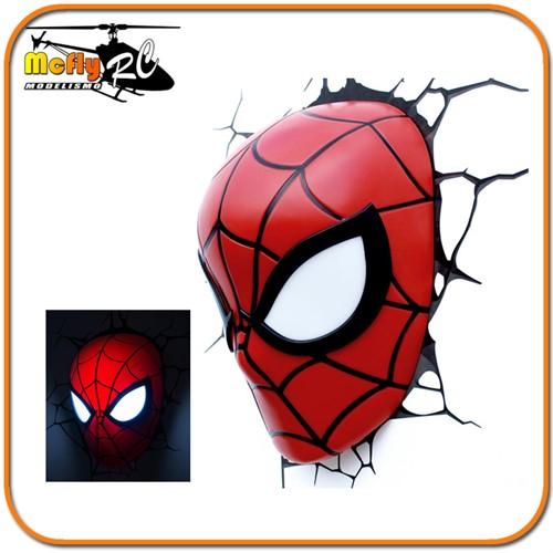 Luminaria 3D Light Spider Man com LED Homem Aranha