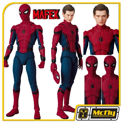 MAFEX 047 SPIDER MAN HOMECOMING Ver Tom Holland