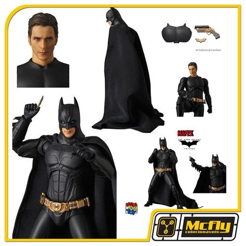 Mafex 049 Batman Begins Suit DC (CAIXA LEVEMENTE AMASSADA)