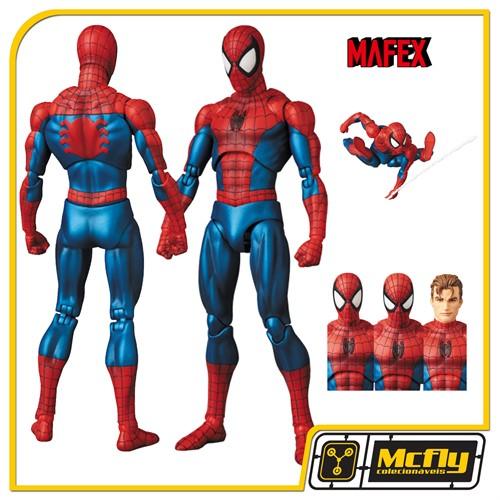 Mafex 075 Spider Man Comic Ver Marvel