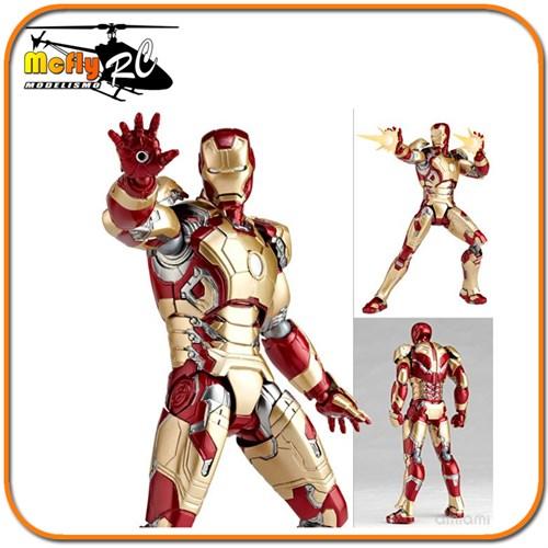 Revoltech Iron Man 3 Mark 42 049 Avengers Homem De Ferro