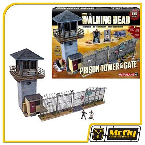 McFarlane The Walking Dead Prison Tower e Gate