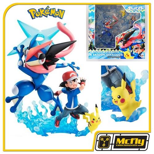Mega House GEM Pokemon Satoshi Pikachu e Gekkouga Ash
