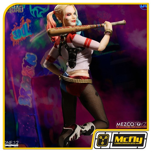 Mezco Toyz One 12 Suicide Squad Harley Quinn