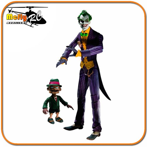 Diamond Joker With Scarface Arkham Asylum