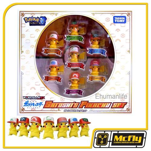 Moncolle EX Takata Tmomy Pokemon Satoshis Pikachu Set