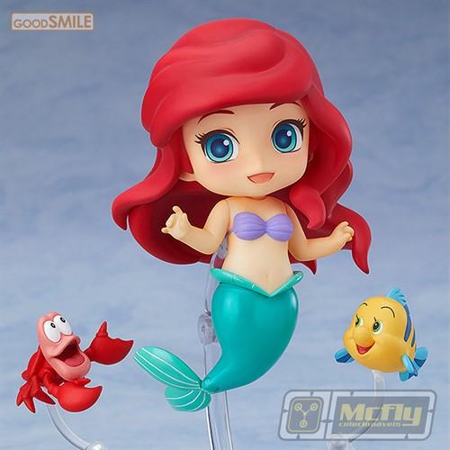 Nendoroid 836 Ariel Pequena Sereia Disney