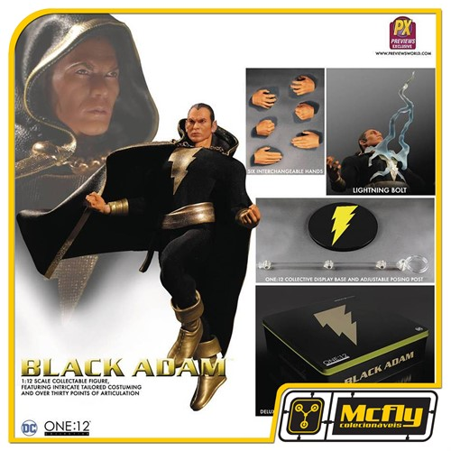 ONE 12 COLLECTIBLE Black Adam Mezco Toyz