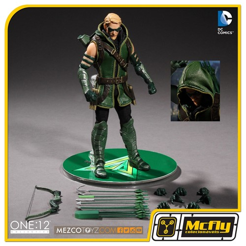 ONE 12 COLLECTIVE Green Arrow Mezco Toyz
