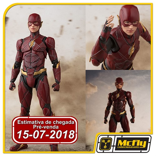 (RESERVA 10% DO VALOR) S H Figuarts Flash Justice League