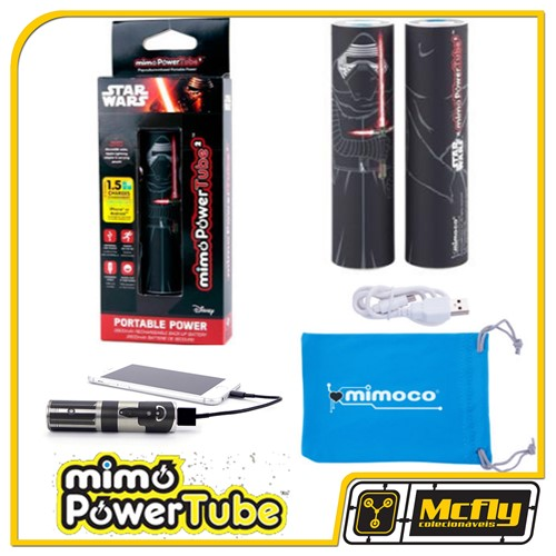Power Bank Mimoco Star Wars Kylo Ren 2600mAh