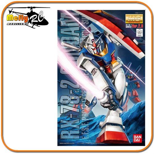 Gundam 0079 1/100 Master Grade RX-78-2 Version 2.0 Model Kit