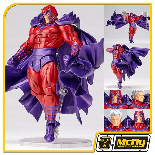 Revoltech 006 Magneto X Men