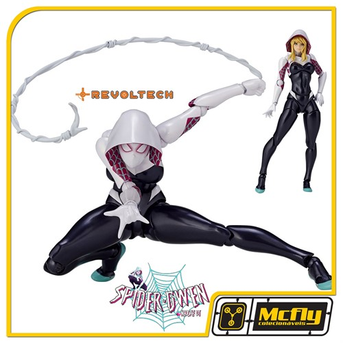 Revoltech 004 Amazing Spider Gwen Spiderman