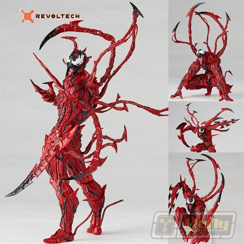 (RESERVA 10% DO VALORT) Revoltech Carnage Marvel SPIDER MAN