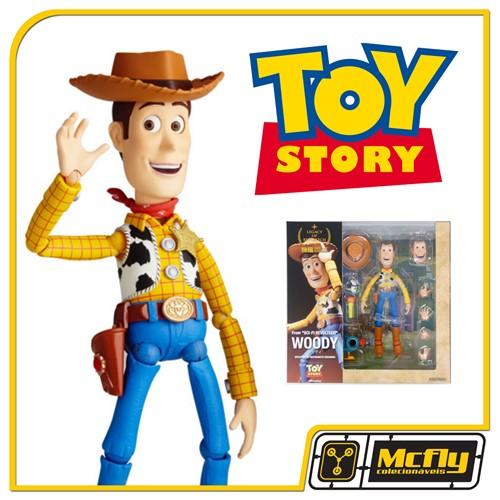 Revoltech Boneco Woody LR-045 Toy Story Disney Pixar