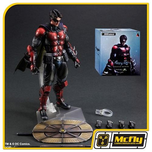 Batman Arkham Origens Robin Origins Play Arts Kai