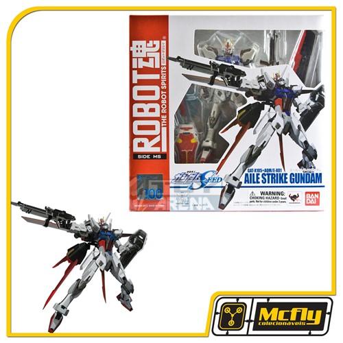 Robot Spirits Aile Strike Gundam GAT-X105 + AQM/E-X01 #100
