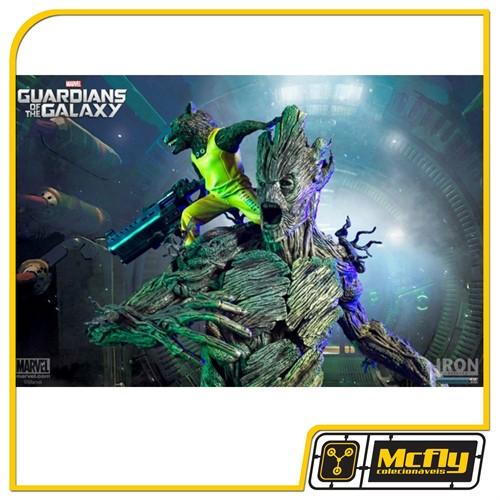Guardians of the Galaxy: Rocket & Groot Prison Breakout Diorama 1/6 Iron Studios
