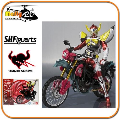 S.h Figuarts Masked Rider Moto Rose Attacker Kamen Rider