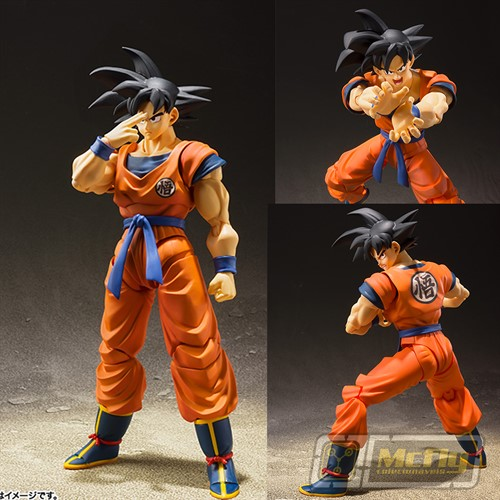 (RESERVA 10% DO VALOR) FRETE GRATIS S.H Figuarts Son Goku 2.0 Bandai Dragon Ball Z 25/09