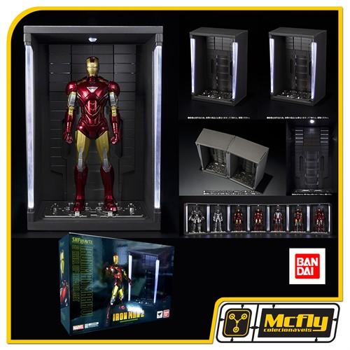 S.H Figuarts Iron Man 2 Mark VI E Hall of Armor Set BANDAI