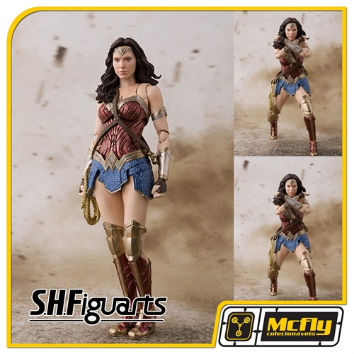 S H Figuarts Justice League Wonder Woman - Mulher Maravilha