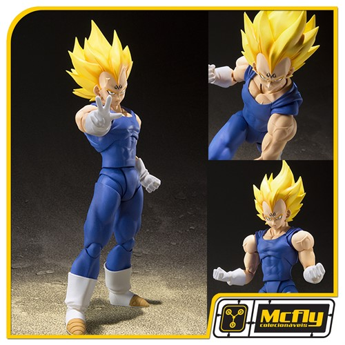(RESERVA 10% DO VALOR) S.H Figuarts Majin Vegeta Dragon Ball