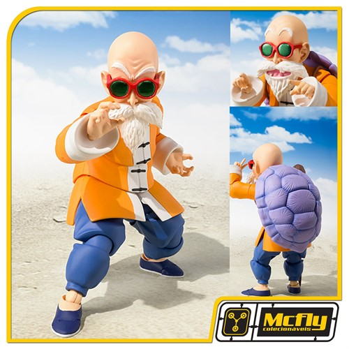 (RESERVA 10% DO VALOR) S.H Figuarts Mestre Kame Dragon Ball Z