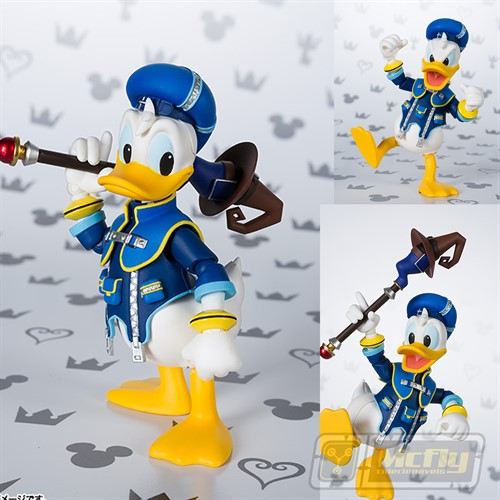 (RESERVA 10% DO VALOR) S.H Figuarts Pato Donald Duck Kingdon Hearts III