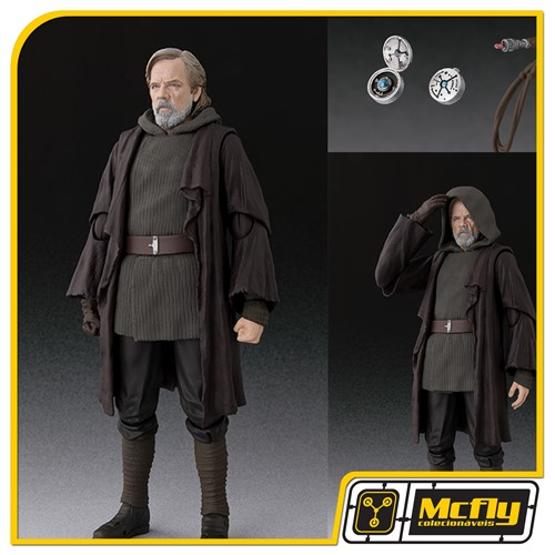 S.H Figuarts Star Wars Luke Skiwalker The Last Jedi Exclusivo Tamashii