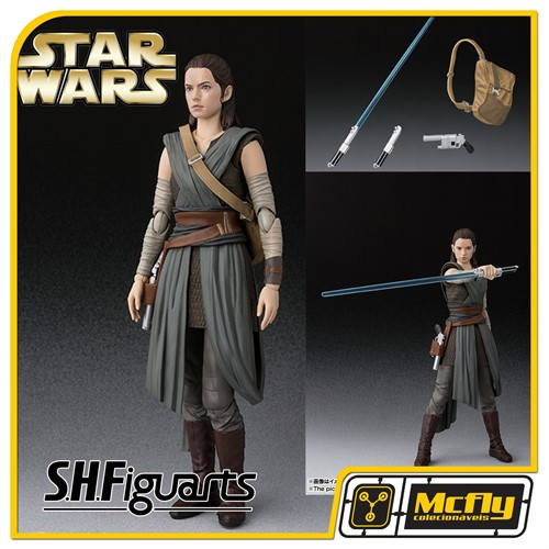 S H Figuarts Star Wars Rey The Last Jedi