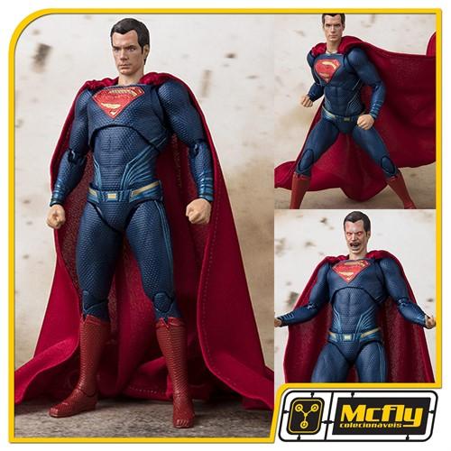 (RESERVA 10% DO VALOR) S.H Figuarts Super Man Justice League