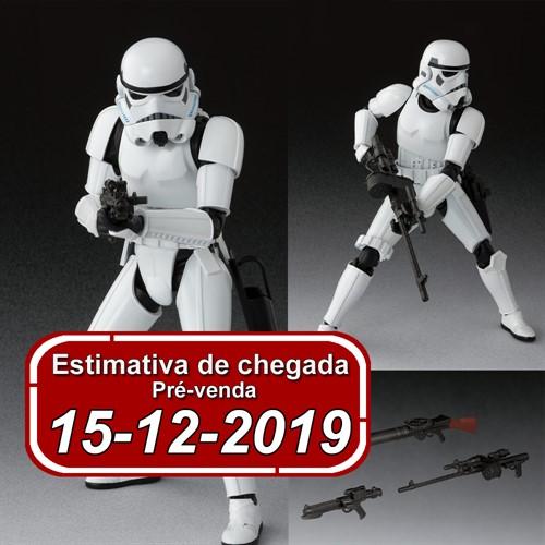 (RESERVA 10% DO VALOR) S.H Star Wars Storm Trooper A NEW HOPE