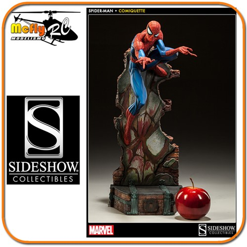Sideshow J. Scott Campbell Spider Man Collection Home Aranha