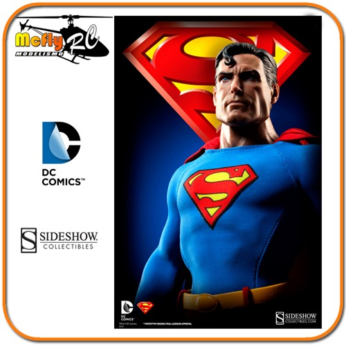 SuperMan Sixth Scale Figure Sideshow Collectibles 1/6