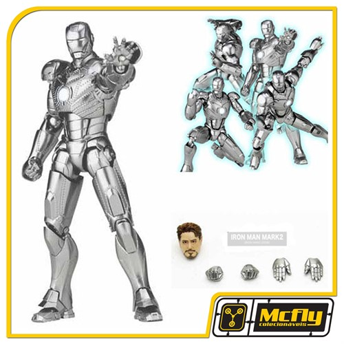 Sci-fi Revoltech Series No.035 Iron Man Mark II