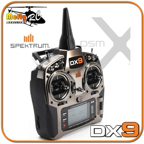 Radio Spektrum Dx9 Dsm2 Dsmx para Telemetria