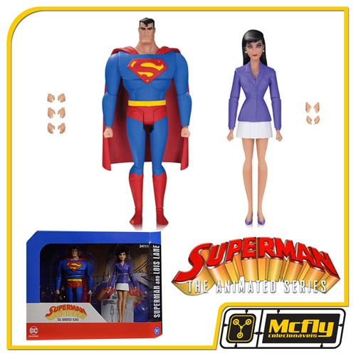 Superman The Animated Series Superman and Lois Lane