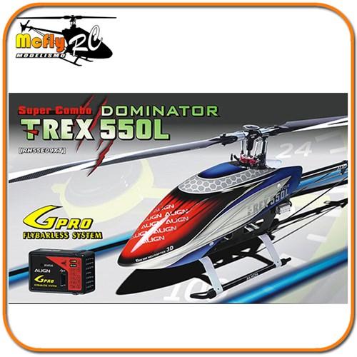 T-REX 550L Dominator Super Combo RH55E09XW