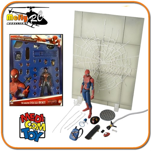 The Amazing Spider man 2 DX MAFEX  Toy Fair 2014