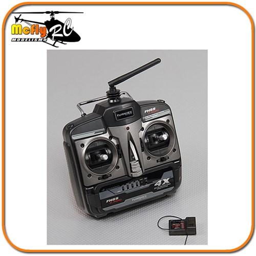 Radio Controle Turnigy 4x M2 Fhss 2.4ghz + Receptor Xr500
