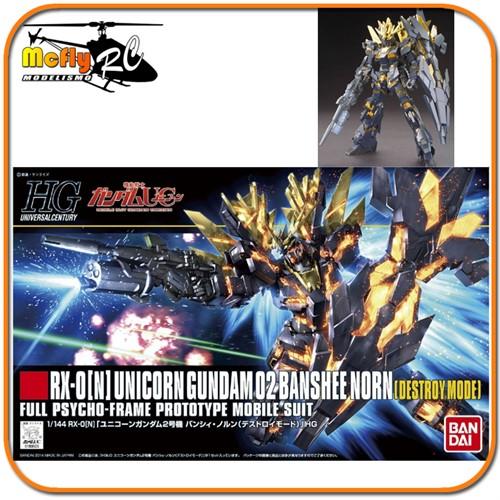 Gundam 1/144 #175 HGUC TX-0[N] Unicorn 02 Banshee Norn Destroy