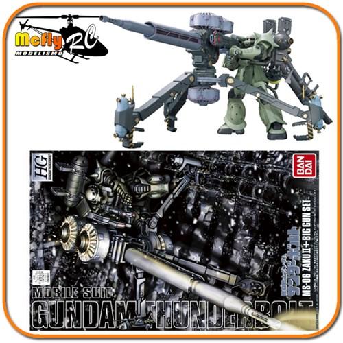 Gundam 1/144 Hg Thunderbolt Ms-06 Zaku Ii + Big Gun Set Mode