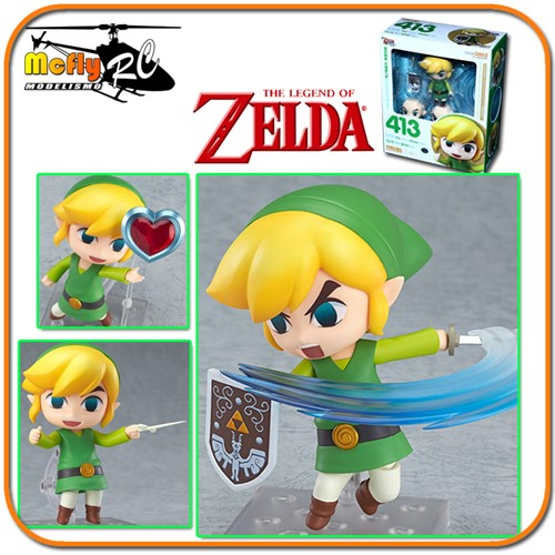 Nendoroid The Legend Of Zelda Link Winder Walker 413 GoodSmile