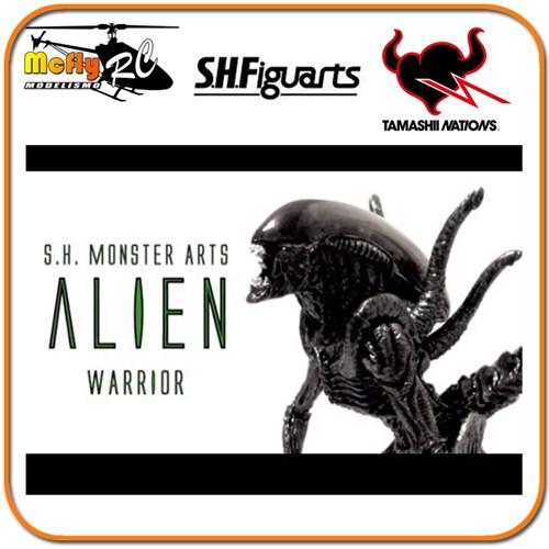 ( Promoção) S.h.monster Arts Alien Warrior Figuarts Alien Vs Predador