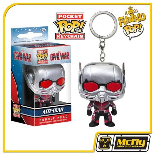 FUNKO POP Keychain - Cap America 3: Ant Man - Chaveiro