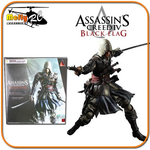 Assassins Creed Iv Black Flag Edward Play Arts Kai Square