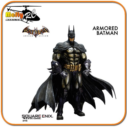 Batman Armored Arkham Asylum - Play Arts Kai Square Enix